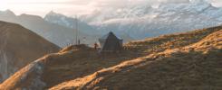 Abgschütz Biwak Älggi Alp Obwalden - Foto von Yanick Küchler