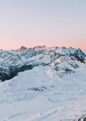 Sonnenaufgang Melchsee-Frutt Winter