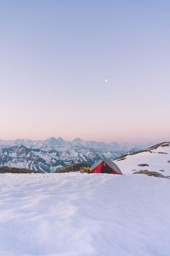 Winter Sonnenaufgang Schrattenfluh von Yanick Küchler